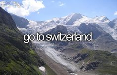 cool Switzerland!