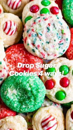 Christmas Cookie Exchange, Christmas Baking, Christmas Treats, Holiday Treats, Holiday Recipes, Christmas Parties, Holiday Foods, Christmas Desserts, Christmas Recipes
