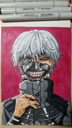 Ken Kaneki -Tokyo Ghoul