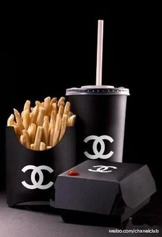Chanel fashionized fast-food packaging