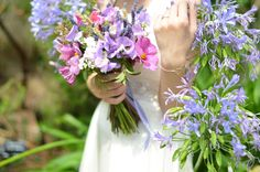 English country garden bouquet from Campbell's Flowers