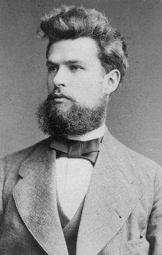 Handsome Victorian Man - B/W