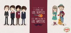 7 Cosas que Los Beatles les dejaron a los Hipsters.