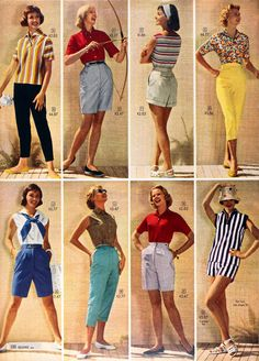 Sears Catalog, Spring/Summer 1958. #vintage #1950s #fashion