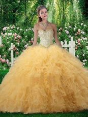 Find bright yellow quinceanera dresses, dare to be different with fabulous yellow quince dresses! Yellow Wedding Dress, Yellow Dress, Wedding Dresses, Quince Dresses, 15 Dresses, Sunflower Wedding Decorations, Quinceanera Dresses, Wedding Styles, Ball Gowns