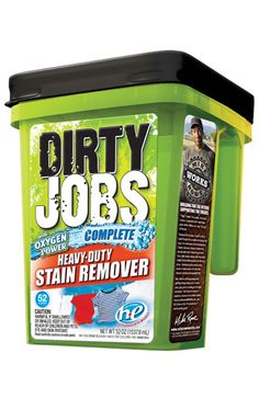 Dirty Jobs - Dirty Jobs™ Complete Heavy-Duty Stain Remover.  I've used it and love it!  Highly recommend!
