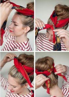 Cuando quieras darle un aire distinto a cualquiera de tus looks, ¡líate un pañuelo a la cabeza! Con este sencillo gesto no solo...