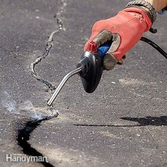 Learn how to fix driveway cracks and pits the right way. They're more than just an eyesore; they actually speed up the demise of your driveway if you ignore them.