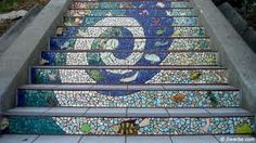 Another nifty staircase! Garden Spaces, Stairs, Staircases, Nifty, Spiral, Inspiration, Live, Home Decor, Biblical Inspiration