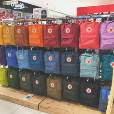 Our backpacks. #backto schoolsales #kanken