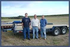 Kaufman Trailers flatbed trailer