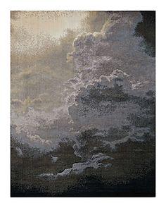 Nourison Twilight Rug - Abstract, 7'9 x 9'9