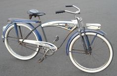 Post Your Monark & Firestone Super Deluxe/Cruisers Old Bicycle, Cruiser Bicycle, Old Bikes, Antique Bicycles, Bicycle Types, Bicycle Design, Vintage Bicycles, Schwinn Bikes, Vintage Menu
