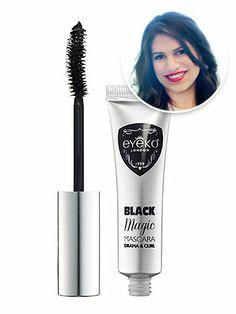 """Eyeko London Black Magic Mascara: """"The curved brush offers mega lash length minus the clumps!"""" @ELLE Magazine (US) Magazine (US)"""
