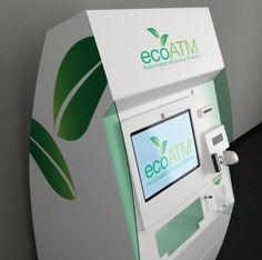 The @ecoATM: Very cool ... #recycle your tech gear for cash. #green #sustainability
