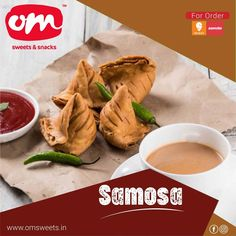Getting all those childhood memories is what everyone is craving for in this busy life. Relish yours with crispy samosas! . . . #samosa #chaisamosa #omsweets #omsweetsandsnacks #food #delicious Om Sweets, Samosas, Busy Life, Fresh Rolls, Childhood Memories, Cravings, Snacks, Ethnic Recipes, Food