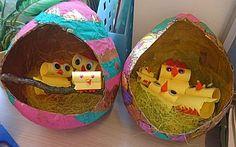 Kuiken in paasei -- thema Pasen