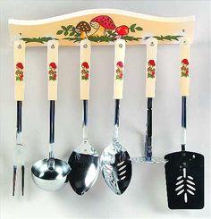 Mushroom kitchen set from Sears.