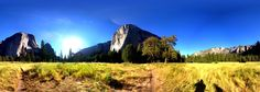 Yosemite lower valley, near El Cap - Aug 2012
