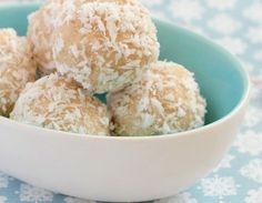 Vegan glutenvrije kokosballetjes