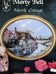 1x Printed Tapestry Thread Canvas Ginger Cottage Marty Bell Sewing Craft Tool