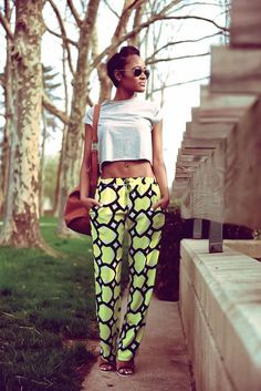 How to Wear Bright Colors and Bold Prints