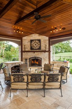 Do you need inspiration to make some DIY Outdoor Patio Design in your Home? Design aesthetic is a significant benefit to a pergola above a patio. There are several designs to select from and you may customize your patio based… Continue Reading → Rustic Outdoor Fireplaces, Outdoor Fireplace Designs, Outdoor Patio Designs, Backyard Fireplace, Outdoor Kitchen Design, Patio Ideas, Fireplace Ideas, Outdoor Patios, Deck With Fireplace