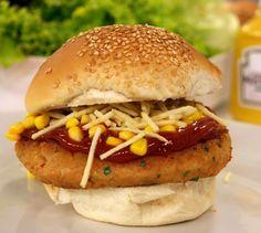 Hambúrguer de Salsicha