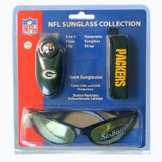9cdb2bc245a Green Bay Packers Sunglass Set by Siskiyou.  19.99. Great way to show off  your