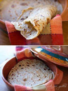 Karina's gluten-free millet buckwheat wrap recipe.