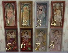 8 paintings by Alphonse Mucha by Sauris at Mod The Sims via Sims 4 Updates Sims 4 Game Mods, Sims Mods, Alphonse Mucha, The Sims, Sims Cc, Morgana Le Fay, Sims 4 Controls, Sims Stories, Play Sims