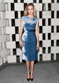 #isabel #lucas #style #dress #velvet #blue #fashion