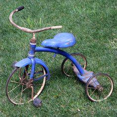 v lo tricycle enfant p dales r tro en bois et m tal vert rouge enfant s pinterest velo. Black Bedroom Furniture Sets. Home Design Ideas