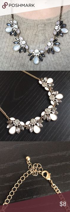 statement necklace! stunning statement necklace with neutral colors. goes with anything! Jewelry Necklaces