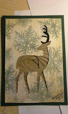 Iris folding : deer