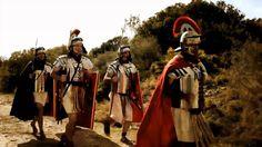 Recreación histórica_ La calzada romana
