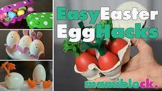 In diesem Video seht ihr ganz viele süße Ideen für Ostern