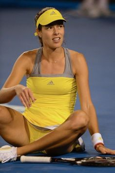 Looking for the hottest photos of Ana Ivanovic? Find the sexiest pictures of WTA tennis player here. Ana Ivanovic, Maria Sharapova Hot, Petkovic, Beautiful Athletes, Tennis Players Female, Sport Tennis, Tennis Stars, Tennis Clothes, Sporty Girls