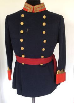 #Uniforme de diario de #General de #Infantería de #Marina de #Alfonso XIII
