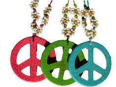 Feature on Hemp Authority! This Peace Pendant Necklace comes in three color options: Red, Green, or Blue. Each necklace is hand crafted and based with hemp twine. It has bead flowers running up from the pendant, and a metal clasp to easily attach and take off. The pendant measure approximately 2.5 inches in diameter. Pairs amazing with a flower …