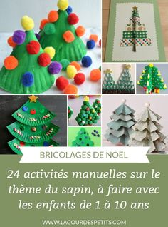 24 Christmas tree crafts for children aged 1 and over. Manual Christmas activities to keep the little ones (and the grown-ups) busy during the whole Advent period: paper, plasticine, cardboard, recycled fir … Source link Christmas Tree Crafts, Christmas Costumes, Christmas Activities, Activities For Kids, Christmas Ornaments, Noel Christmas, Crafts For Kids, Arts And Crafts, Recycling