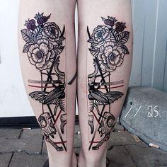 Jessica Kinzer. drawings since 2011. tattoos since 2014. email: jessicasvartvit@gmx.de