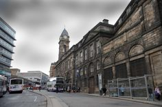 The Old Town Hall at Wainegate Sheffield city centre