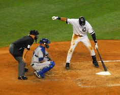 NY Yankees - Derek Jeter.  I don't think Jeter could bat if he did not do his arm shake.