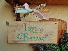 Placa para casamento Placa decorativa | Olha o que eu fiz... | Elo7