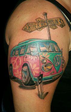 New Tattoo bulli t1 vw