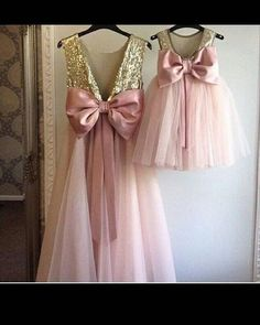 39 Ideas For Baby Girl Princess Mother Daughters Kids Frocks, Frocks For Girls, Gowns For Girls, Girls Dresses, Mommy And Me Dresses, Little Girl Dresses, Flower Girl Dresses, Mother Daughter Fashion, Mother Daughters