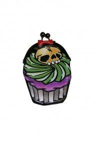 Cupcake Skull Purse #horror #goth #punk
