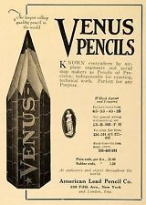 Venus pencils advertisement