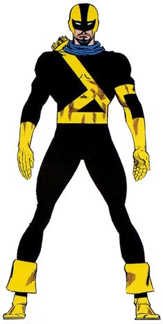 Black Archer - Marvel Comics - Squadron Supreme - Green Arrow